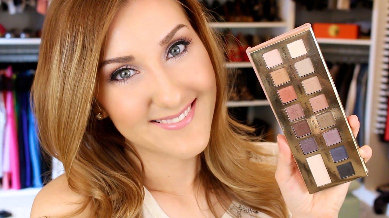 Fresh spring makeup tutorial it palette review youtube fresh spring makeup tutorial it palette review baditri Choice Image