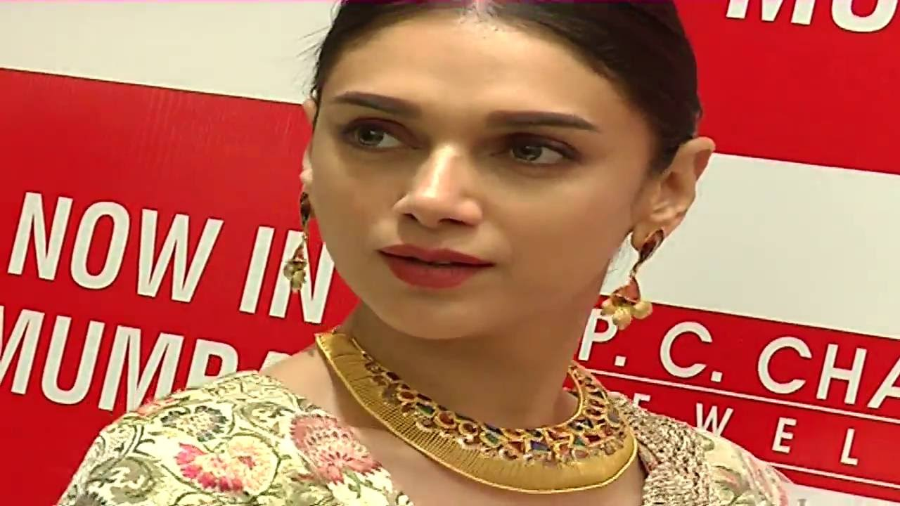 Aditi Rao Hydari At Launch P C Chandra Jewellers | Full Event ...