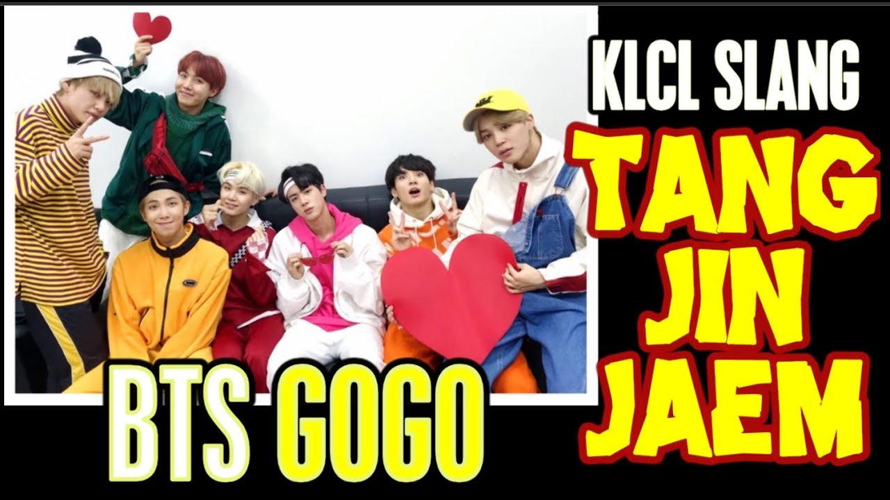 BTS GOGO Tangjinjaem Slang Explained (English) 방탄소년단 고민보다 GO 탕진잼 속어해설