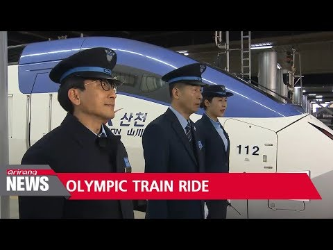 Lunch with South Korean President Moon Jae-in on exclusive presidential train