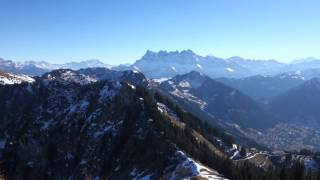 360 Haut Sex(1960m), Torgon, Portes du Soleil, Valais, Suisse, 04-12-2016