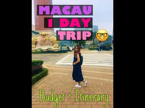 MACAU TRIP (Itinerary + Budget)