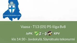 PSL 2018 TC13 21.4. JyPK - KPV maalikooste