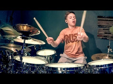 FREEWILL - RUSH - Drum Cover by Avery Drummer