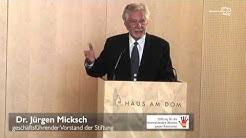 Dr. Jürgen Micksch: 20 Jahre Interkultureller Rat