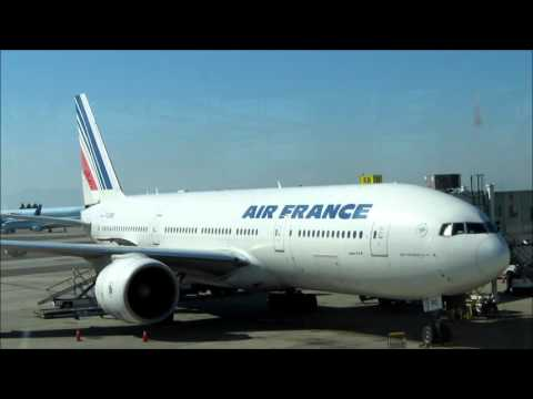 Air France  - Vancouver Canada to Paris France  trip report October 2015