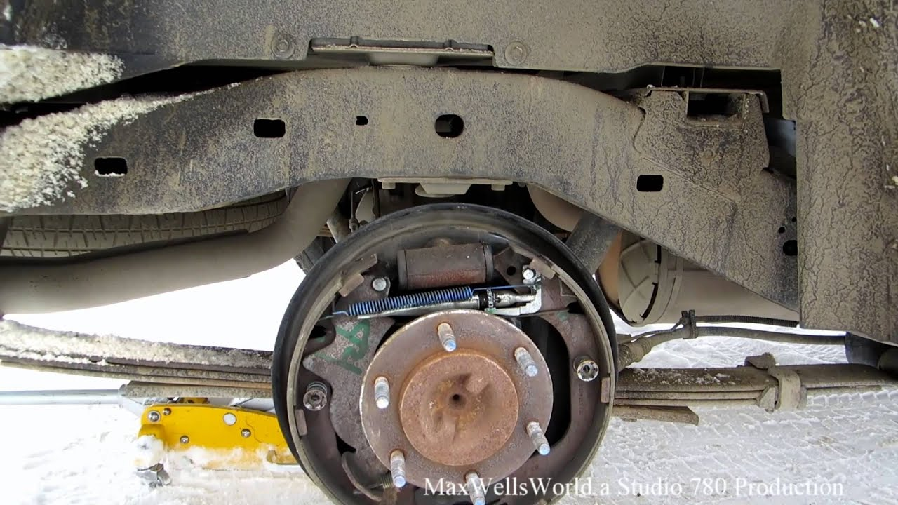Hint Tip Video Brake Drum Does Not Fit Back On Maxwellsworld Youtube