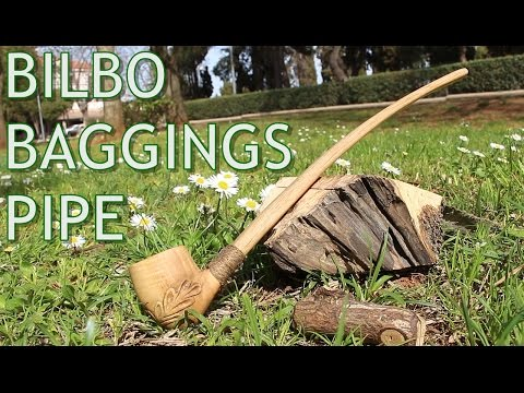 Bilbo Baggins Pipe - Making of