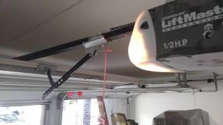 Lift Master Garage Door Opener Not Closing Force Control Adjustment