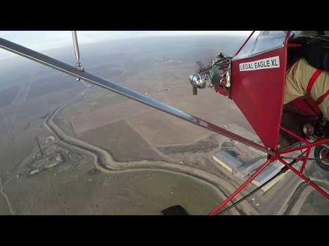 Calm and Cold Ultralight Flight with ORV