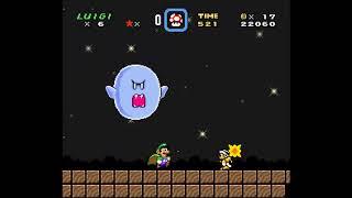 SMW Hack - Luigi's Misadventures: Tsux Namine's Factor (17)