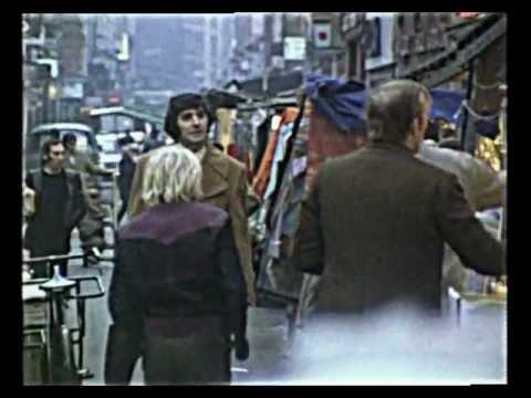 Comedian Ken Goodwin In London 1971 Vintage Footage