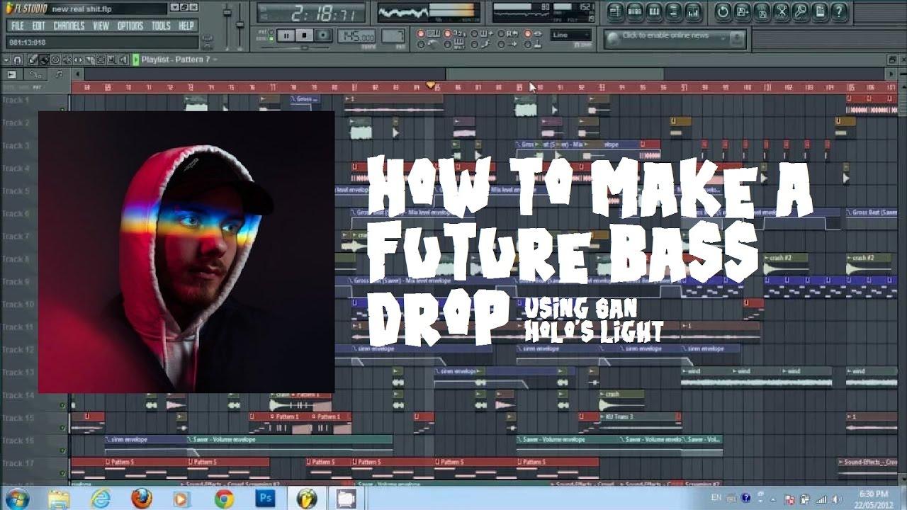 Making a melodic dubstep drop (fl studio) (tutorial) youtube.