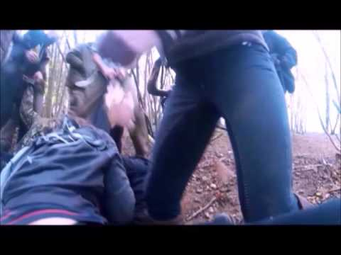 Hunt sabs attacking hunt supporter, the truth behind the photos.
