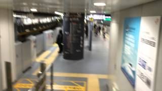Arriving at Haneda Airport, Transfer to Subway