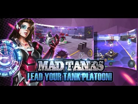 Mad Tanks Official Trailer