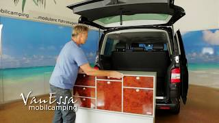 VanEssamobilcamping - Schneller Ein- und Ausbau