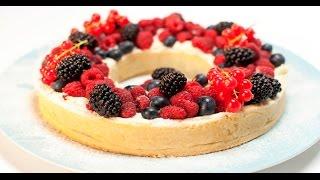 Ягодный песочный пирог | Теле-теле-тесто