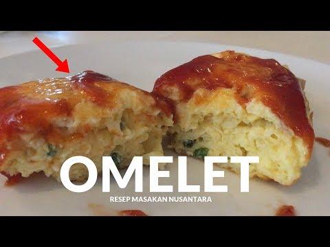 RESEP OMELET TELUR ALA HOTEL #173