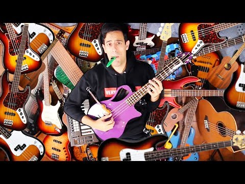 I Played 50 Instruments In 2 Minutes