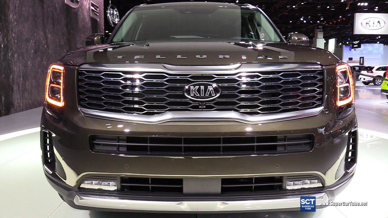 2020 Kia Telluride Exterior And Interior Walkaround Debut At 2019 Detroit Auto Show