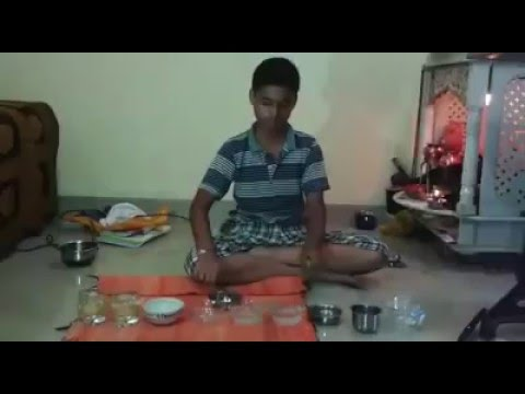 Kid playing National Anthem with daily instruments : Creativity at its Best