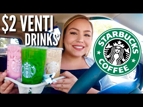 AFFORDABLE STARBUCKS DRINKS