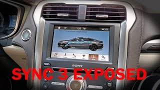 Check out Ford SYNC 3 in the 2017 Fusion Energi Platinum PHEV