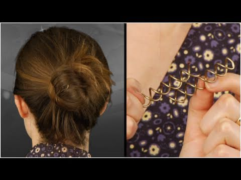 Goody Spin Pin Tutorial Review Create An Easy Updo