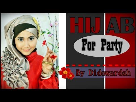 Tutorial Hijab Pesta dan Wisuda | Beaded J by Didowardah #2