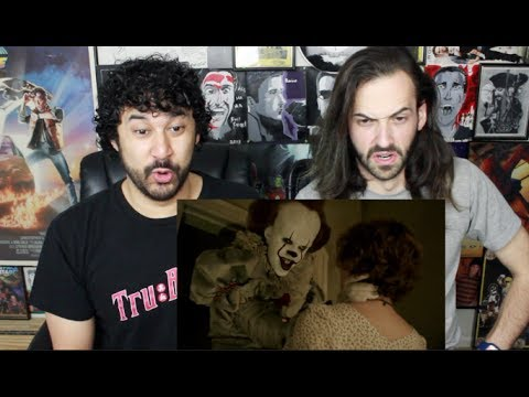 IT - Official TRAILER 1 REACTION & REVIEW!!!