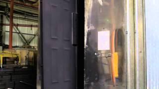 видео Описание основных этапов изготовления входных дверей