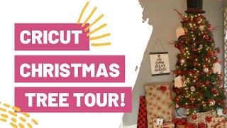 CRICUT CHRISTMAS TREE TOUR! 20 CRICUT CHRISTMAS PROJECTS