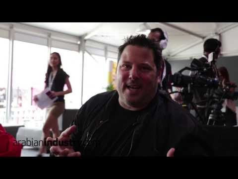 In conversation with Greg Grunberg at Middle East Film & Comic Con 2017
