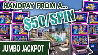 😁 $50 SPIN Got Me A JACKPOT HANDPAY 💥 High-Limit LAS VEGAS SLOTS For The WIN