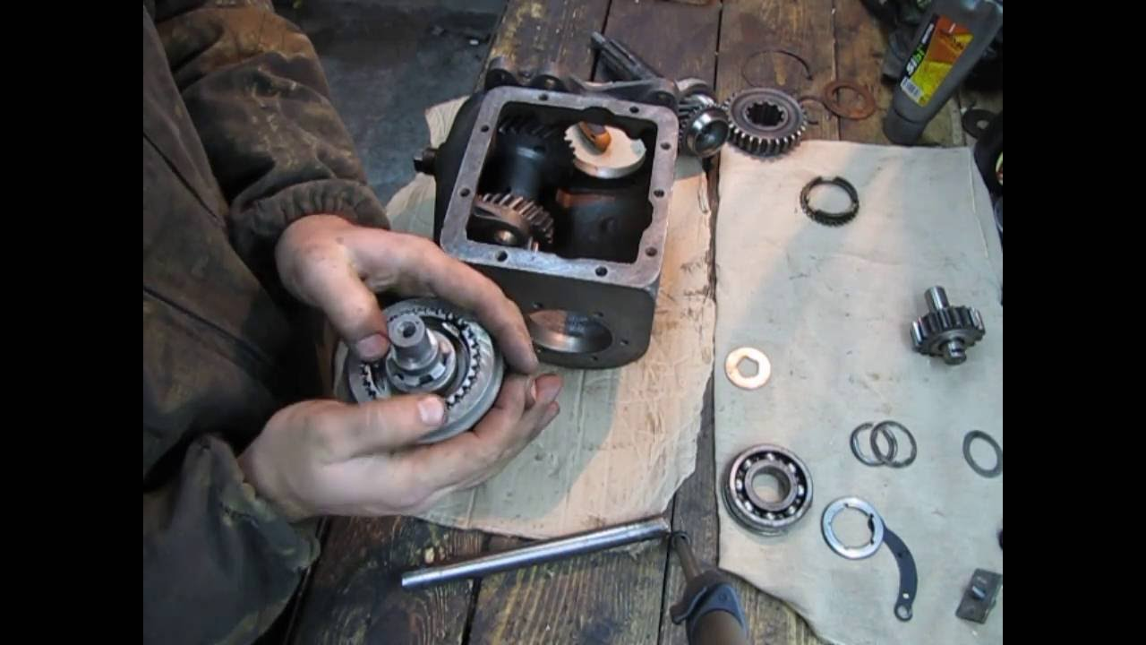 ГАЗ 69 А часть 6. Сборка коробки передач