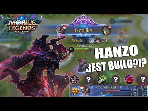 download HERO BARU HANZO - TIPS & TRICKS DAN OP BUILD SERTA CARA COUNTER HANZO - MOBILE LEGENDS