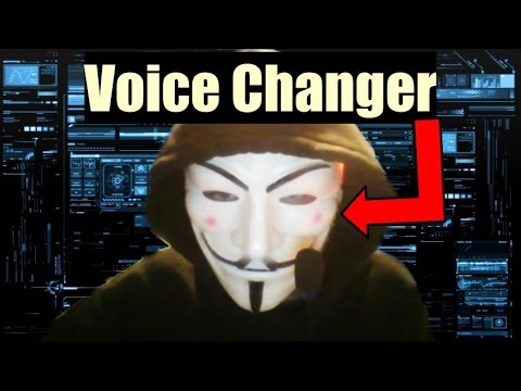 Diy Hacker Mask With Voice Changer