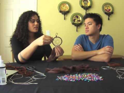 518 Video Re-creation - Dreamcatcher Weaving