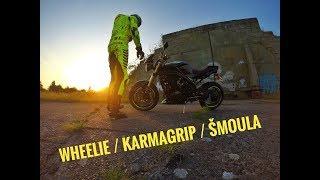 MOTOVLOG 25 - Nov KarmaGrip  Potebuji poradit  Asi jsem se zblznil