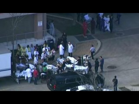 Reports of shots fired at Houston hospital