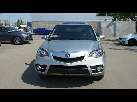2011 Acura RDX SH-AWD Technology Walk Around Review | West Side Acura in Edmonton Alberta