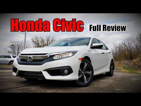 2018 Honda Civic Sedan: FULL REVIEW | Touring, EX-L, EX-T, EX & LX