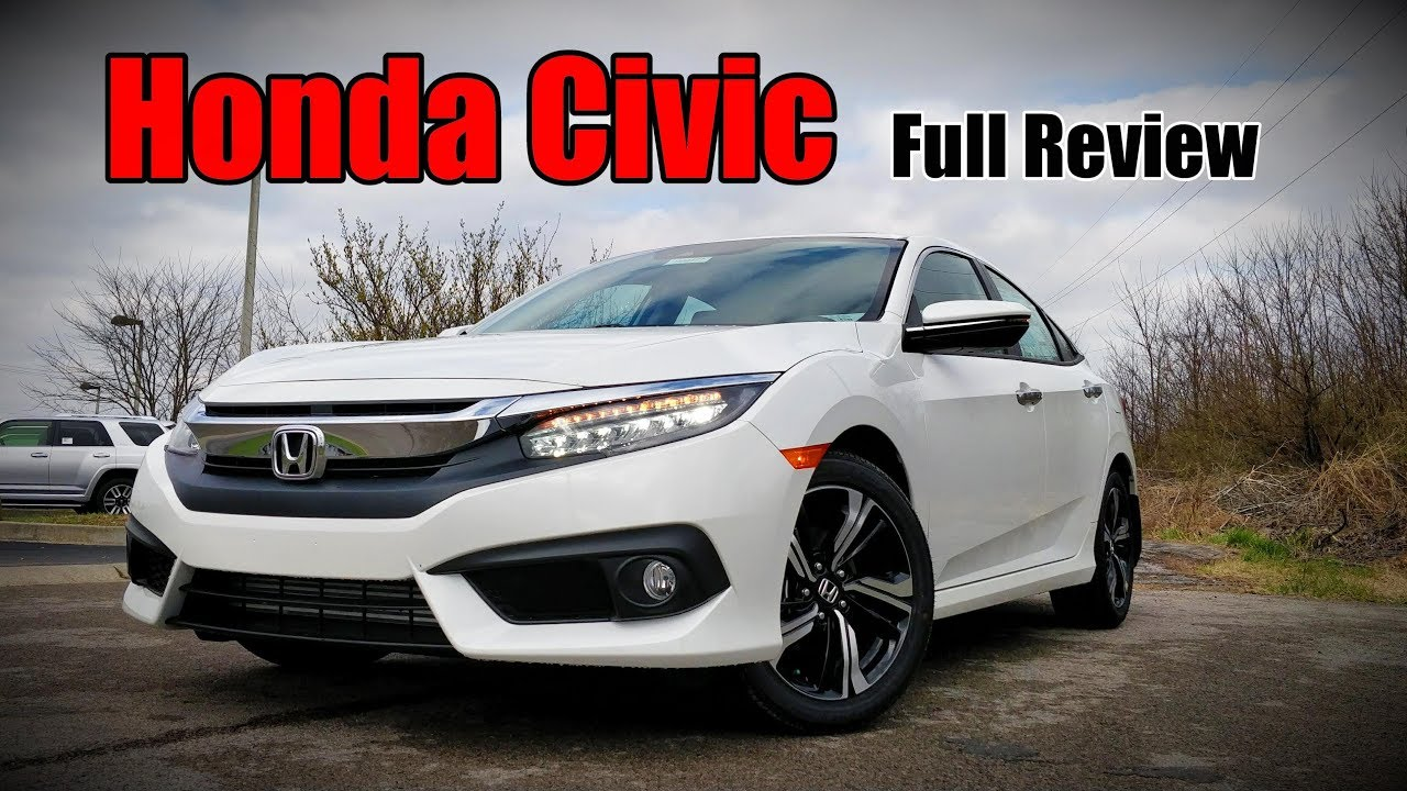 2018 Honda Civic Sedan: FULL REVIEW | Touring, EX L, EX T, EX U0026 LX