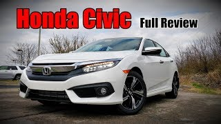 2018 Honda Civic Sedan: FULL REVIEW | Touring, EX-L, EX-T, EX & LX