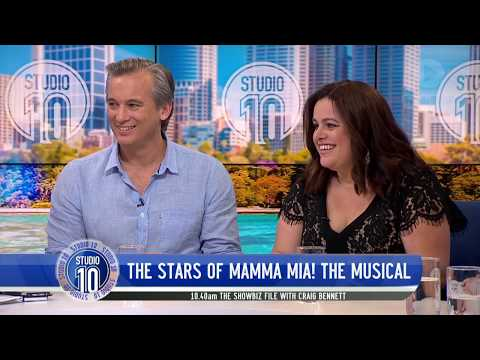 Ian Stenlake & Alicia Gardiner Talk 'Mamma Mia! The Musical' | Studio 10