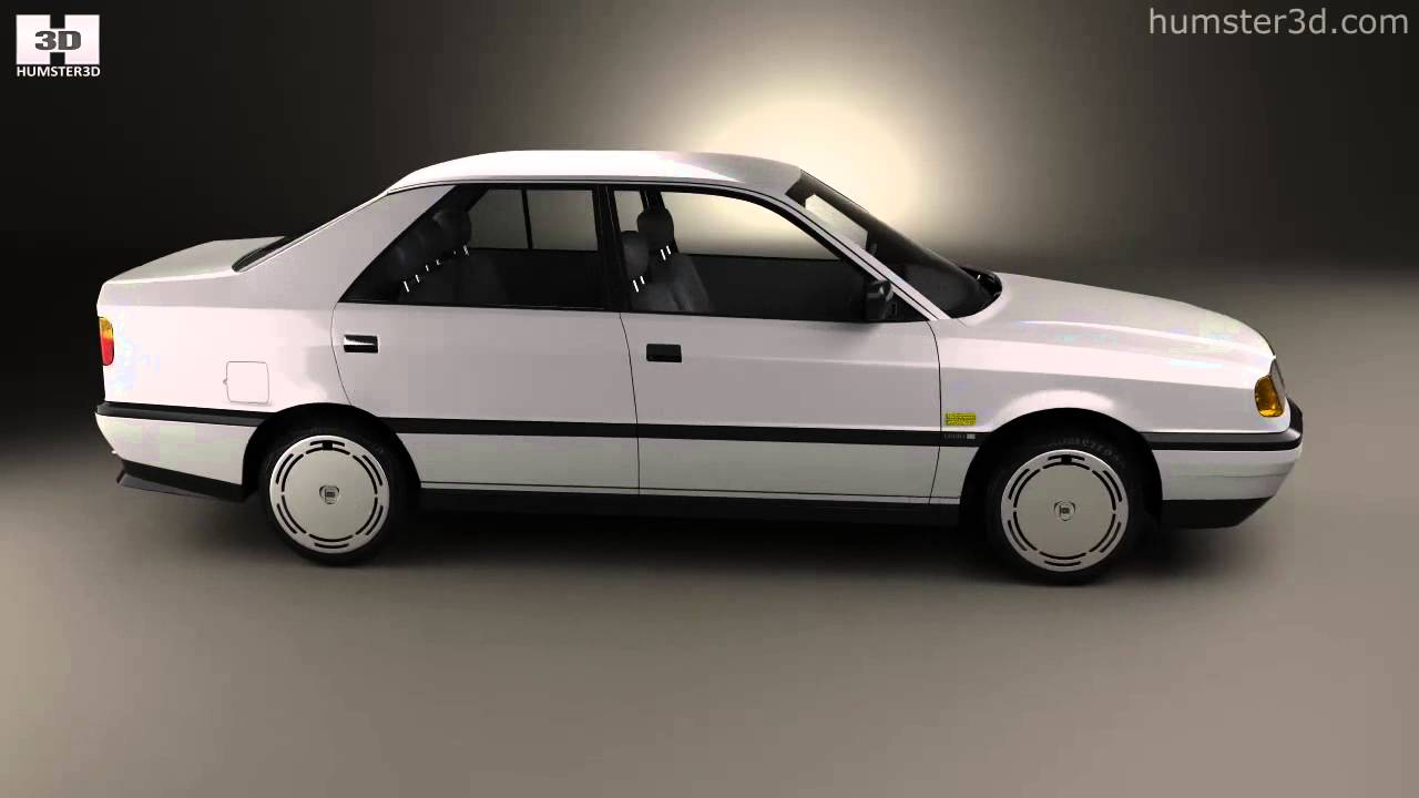 Lancia Dedra (835) 1989 by 3D model store Humster3D.com - YouTube