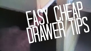 How To Build And Install A Drawer, Easy Simple Cheap Method, Carpenter Instructions