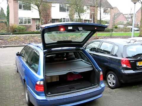 bmw e39 hydraulic trunk boot open close youtube. Black Bedroom Furniture Sets. Home Design Ideas