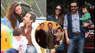 Unseen Picture Of Kareena Kapoor Khan, Saif Ali Khan And Taimur Ali Khan Is Perfect Family Portrait